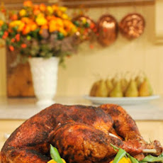 Ancho-Sage Turkey with Pan-Roasted Onions