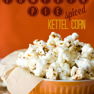 Pumpkin Pie Spice Kettle Corn
