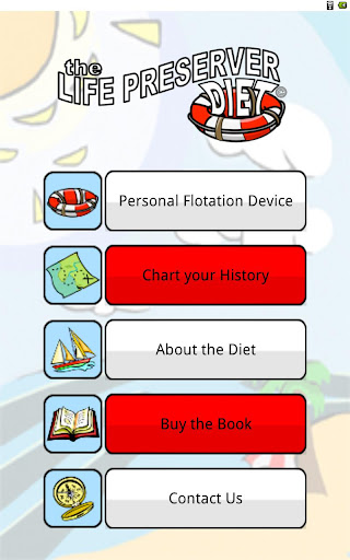 The Life Preserver Diet App