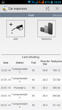 Car Expenses APK screenshot thumbnail 15