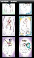 Screenshot of Funny Dots - Princesses