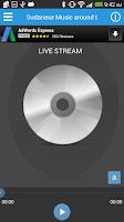Screenshot of Radio Al Sudan