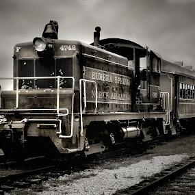 Eureka Springs RR by Joel Mcafee - Transportation Other ( locomotive, train )