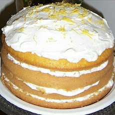 Lemon Bavarian Torte