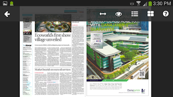 Screenshot of The Edge Financial Daily
