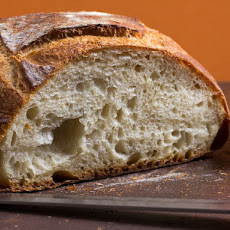 Simple Crusty White Bread