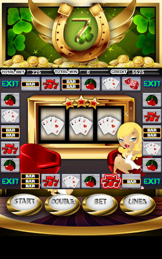 無料纸牌Appのラッキー7のスロットマシン|記事Game