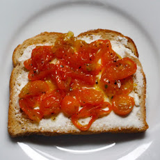 Kumquat-Rosemary Marmalade with Goat Cheese