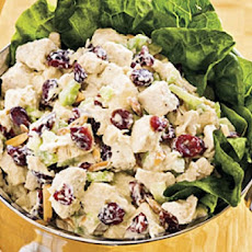 Smoked-Chicken and Cranberry Salad