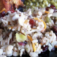 Wild Rice with Cranberries & Pecans