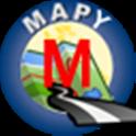 Málaga desconectado mapa icon