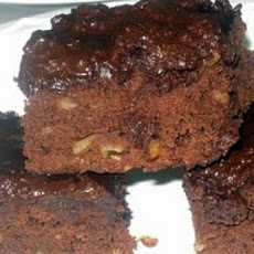 Jamaican Coffee Brownies with Pecans