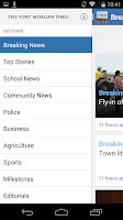 Screenshot of Fort Morgan Times
