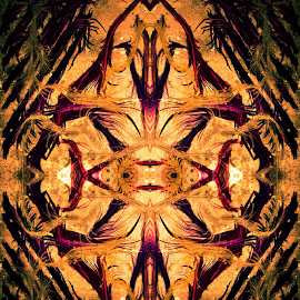 Alien by Linda Tribuli - Digital Art Abstract ( abstract digital art )
