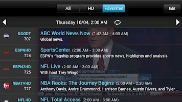 Screenshot of SlingPlayer for Phones
