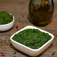 """Southern Style"" Collard Greens Pesto"