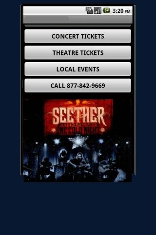 Seether Tickets