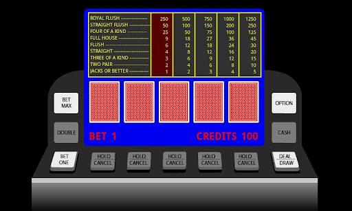 Poker Video Machine
