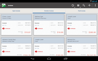 Screenshot of QuickBooks for Windows