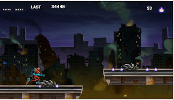 Screenshot of Machine Transformer Run -HD