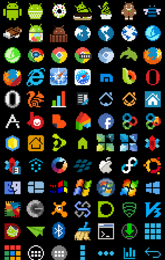8-BIT Icon Theme Screenshot 19