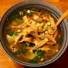 Steph's Chicken tortilla soup