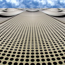 De Cope 1 by Anita Berghoef - Buildings & Architecture Office Buildings & Hotels ( modern, parking garage, parking, garage, the netherlands, architecture, looking up, utrecht, buiding )