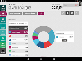 Screenshot of Mes Comptes BNP Paribas