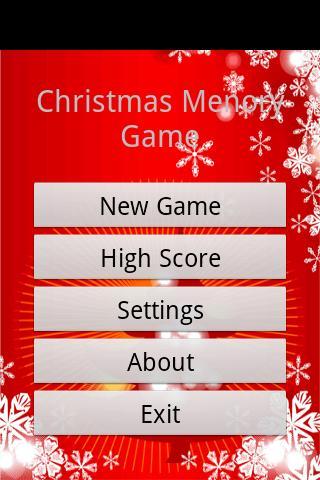 聖誕記憶遊戲