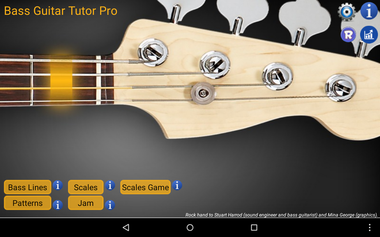 Bass Guitar Tutor Pro Screenshot 16