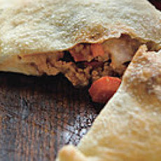 Sloppy Joe Pizza Pockets