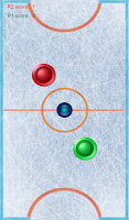 Screenshot of Air hockey arcade game