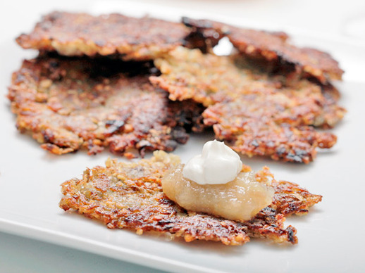 Latkes with Sichuan Peppercorns