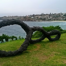 Open Air Art by Kamila Romanowska - Instagram & Mobile Other ( nature, australia, art, ocean, monument, sydney )