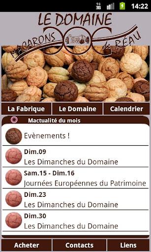 Macarons de Réau