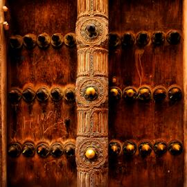 Royal Door by Mari du Preez - Buildings & Architecture Homes ( doors, zanzibar, wood, wooden door, door, architecture,  )