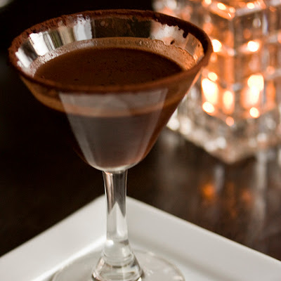 Red Carpet Peppermint Mocha Martini