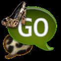 GO SMS - Leopard Stilettos icon