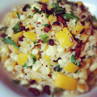 Creamy Brown Rice with Bacon