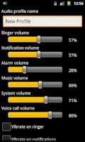 Screenshot of Audio Profile Switcher