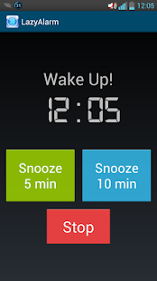Lazy Alarm - screenshot