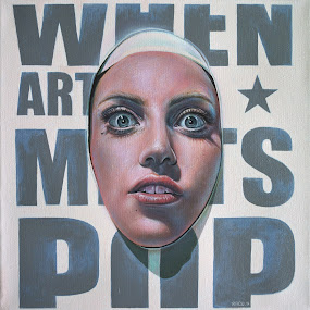 Point of view (when ART meets POP) by Alexandru Racu - Painting All Painting