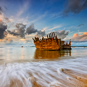 Lost by Hendri Suhandi - Landscapes Travel ( bali, beach, sunrise )