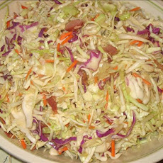 Hot Bacon - Cabbage Slaw