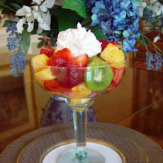 Caribbean Fruit Salad With Coconut Cream Dressing