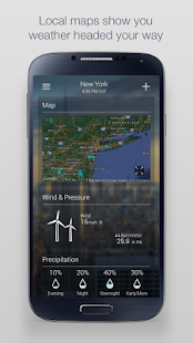 Yahoo Weather APK for Nokia