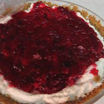 Cranberry Cream Pie II