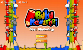 Screenshot of Buku Mewarnai Seri Binatang