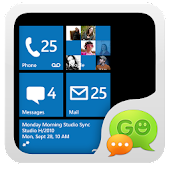 Free GO SMS Pro WP7 ThemeEX APK for Windows 8