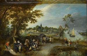RIJKS: Adriaen Pietersz. van de Venne: painting 1615